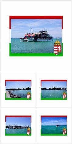 Ungarn Plattensee Postkarten