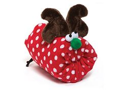 West Paw Design Squeaky Holiday Toy - Rudy - Red Dot - ** Details can be found by clicking on the image. (This is an affiliate link) Red Dots, Dog Toys, 5 S, Baby Shoes, Christmas Ornaments, Holiday Decor, Link, Doggies, Image