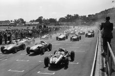 The Aintree Motor Racing Circuit is the historical racing site near Liverpool which hosted five Formula 1 British Grand Prix races between 1955 and 1962 Racing Helmets, F1 Racing, Drag Racing, Sport F1, The Great Race, Automobile, British Grand Prix, Yamaha Motorcycles, Dirt Track Racing