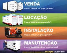 Manitec Grupos Geradores Venda - Locação - Instalação - Manutenção Mais informações (19) 3894-5048 comercial@manitec.com.br www.manitec.com.br