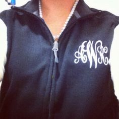 """""""if its not moving, monogram it!"""" -reese witherspoon"""