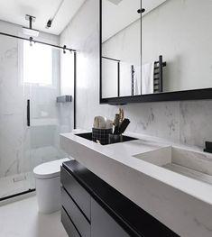 Home Room Design, Home Interior Design, Kitchen Design, Interior Decorating, House Design, House Rooms, Double Vanity, Decoration, Sweet Home