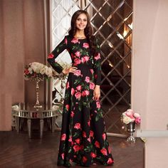 Muslim dresses and abayas that will captivate your fashion sense. Long sleeve maxi dress that is hijab style and for every season. Cotton polyester spandex and all the great materials for a modest islamic style woman. Free shipping at oveila