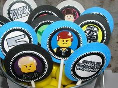 Star wars lego toppers