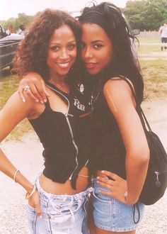 by the gods! - Aaliyah & Stacey Dash