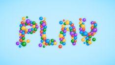 Create a Plastic Balls Text Effect in Adobe Illustrator