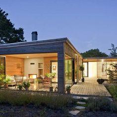 Excellent Hakansson Tegman Contemporary House In Hollviken Sweden:  Villa Hakansson Tegman Photo 17: Warm And Nifty Open Plan Living Interiors                                                                                                                                                                                 More