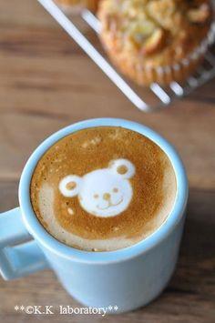 Avec biensur... un petit café et ton ours blanc....