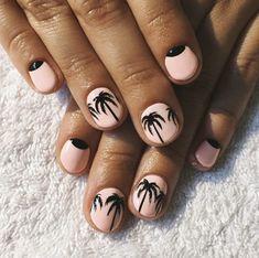 52 Modern and Cute Nails To Try This Summer - #nails #nail #art #artnails #nailsart