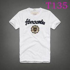 New Abercrombie Stamps LOGO T20 Fashion Summer Men T-shirt