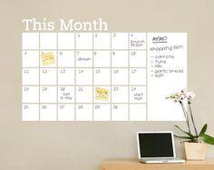 Best 25 Chalkboard Wall Calendars Ideas On Pinterest