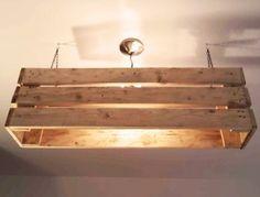 LED Lampe Hngeleuchte Holz Antik Balken Deckenlampe Holzlampe
