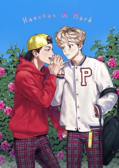 mark x haechan