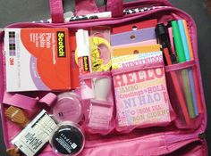 Organizing: Travel Kit for SMASH* booking On-The-Go