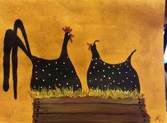 Folk Chickens