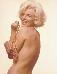 Marilyn Monroe. Photo by Bert Stern, 1962.