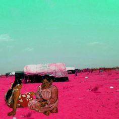 "Tammam Azzam Syrian Museum Paul Gauguins Tahitian Women On the Beach   تمام عزام  ""متحف سوري – بول غوغين"""