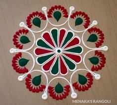Easy Rangoli Designs Videos, Indian Rangoli Designs, Rangoli Designs Latest, Simple Rangoli Designs Images, Rangoli Designs Flower, Rangoli Border Designs, Rangoli Patterns, Rangoli Ideas, Rangoli Designs With Dots