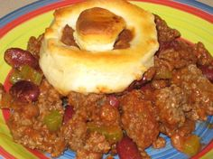 """Hungry Boy Casserole-  I found this in my mother-in-law's """"Pillsbury Best of the Bake-Off Cookbook"""" and can't wait to try it out!"""