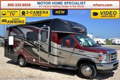 New 2016 Coachmen Concord W/FBP, Swivel Seats & Lounge For Sale by Motor Home Specialist available in Alvarado, Texas Class B Rv, New Class, Rv Campers, Happy Campers, Sprinter Motorhome, Windshield Cover, Led Exterior Lighting, Coachmen Rv, Power Tower