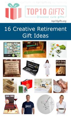 Creative Retirement Gifts. Suitable for women and men.