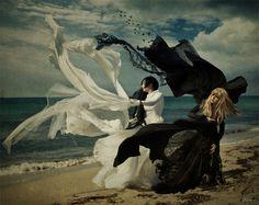 La obra surrealista del artista Chiara Fersini aka Himitsuhana