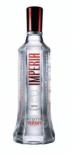 Russian Vodka Bottle