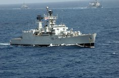 INS Brahmaputra (F31) - Brahmaputra class Frigate (India)