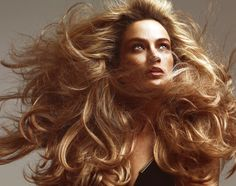 Carolyn Murphy by Norman Jean Roy for Allure April 2015 Carolyn Murphy, 80s Big Hair, Orlando, Wind Blown Hair, Norman Jean Roy, Hair In The Wind, Hair Photography, Conceptual Photography, Fashion Photography