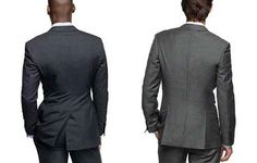 Pay attention to the back of your suit.