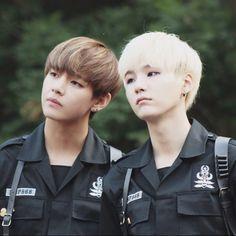 Suga y Tae Tae