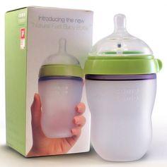 Natural-Feel Baby Bottle.