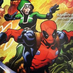 Today's cover is taken from Marvels The Uncanny Avengers graphic novel Lost Future.  Available now in Mutant Mile Comics inside the Little Gem at 110 Shirley High Street Southampton two doors down from Iceland and opposite the Precinct.  #superheroes #comics #mutantmilecomics #thelittlegem #shirleyhighstreet #southampton #marvelcomics #avengers #deadpool