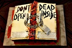 Walking Dead - Don't Open Dead Inside Birthday Cake