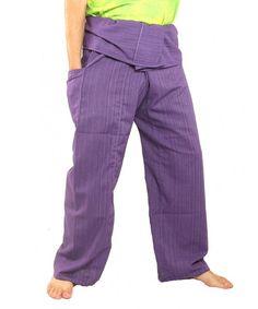Men's Clothing, Pants, Thai Fisherman Pants Solid Color Cotton Mix One Size Extra Long - Purple - Clothing, Pants Slim Fit Chinos, Slim Fit Pants, Thai Fisherman Pants, Chino Joggers, Wrap Pants, Camo Pants, Maternity Wear, Long Pants, Workout Pants
