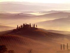 Orcia Valley, Tuscany