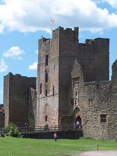 Ludlow Castle gatehouse - Shropshire, England.j  Joane de Mortimer 1335-1376  Lived there.  17th Great grandmother