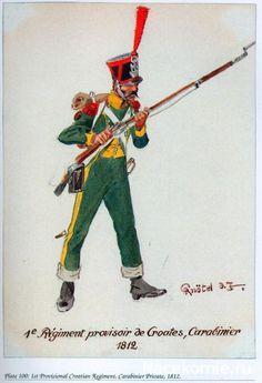 Carabiniere del 1 rgt. di fanteria croato