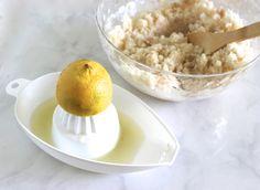 Lemon & Vanilla DIY Body Scrub