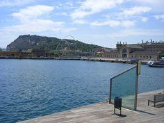 Alter Hafen Port Vell in Barcelona