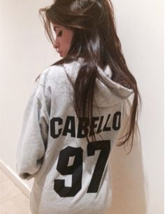 Camila) good morning..*rubs my eyes* who likes my sweatshirt?! *giggles*