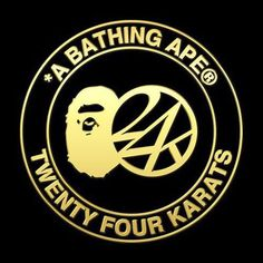 24karats x A BATHING APE