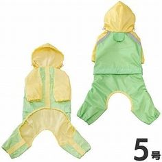 Baie Chick Ash full support raincoat No. 5 Green (japan import) >>> Additional details found at the image link  : Dog coats