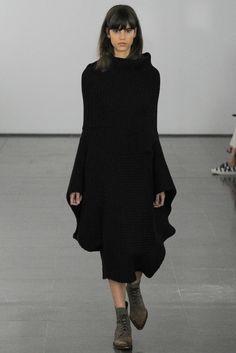 winterkleider damen schwarzes strickkleid strickmode