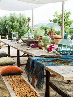 Cyberpunk Art, Outdoor Living, Architecture, Bbq, The Outsiders, Villa, Table Decorations, Places, Mood