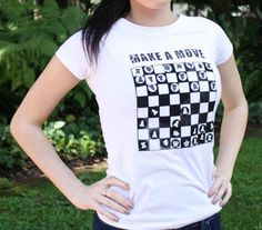 5064bd59 12 Best Chess Club images | Chess, T shirts, Chess games