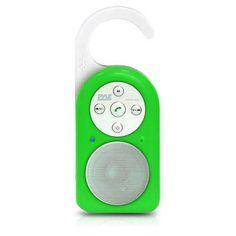 Bluetooth Wireless Shower Speaker & Hands Free Speaker-phone W/ AUX IN (Green Color)