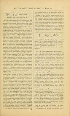 Godeys ladys book 1861 Jan -June; Jul - Dec vintage aged ephemera