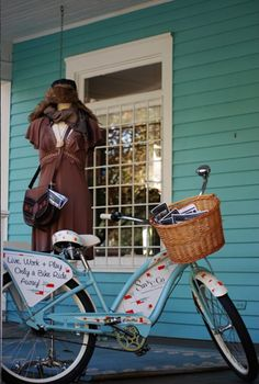 Savvy + Co. Real Estate's bicycle... live, work and play only a bike ride away!