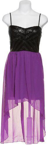 TRIXXI Zigzag Sequin Chiffon Hi-Low Dress [29014147PI], 530PRPLBLK, MED Trixxi http://www.amazon.com/dp/B00GP5FC8E/ref=cm_sw_r_pi_dp_Hs-2tb1XFGR4AA3A